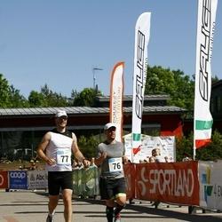 Hiiumaa VI jooksumaraton - Randver Fred (76), Roosimägi Eiko (77)