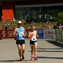 Hiiumaa VI jooksumaraton - Kalle Anti (79), Kalle Triinu (80)