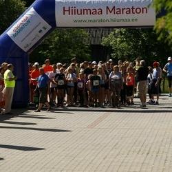 Hiiumaa VI jooksumaraton - Eliise Kesküla (25), Kaur Kristjan Anton (25), Marie Aug (25), Veljo Vask (25), Herta Kesküla (26), Geir Tristan Anton (26), Marit Leisberg (26), Maasik Martin (26), Olavi-Tanel Kask (36), Karel Otto (36), Lilloja Kaido (36), André Abner (36)