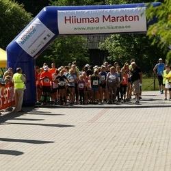 Hiiumaa VI jooksumaraton - Eliise Kesküla (25), Kaur Kristjan Anton (25), Marie Aug (25), Veljo Vask (25), Herta Kesküla (26), Geir Tristan Anton (26), Marit Leisberg (26), Maasik Martin (26), Jan Kõrva (29), Toomas Mast (29), Mihkel Heinapuu (29), Leisberg Martin (29), Targo Tenni