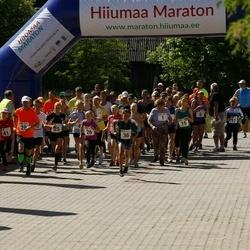 Hiiumaa VI jooksumaraton - Evi Loik (1), Liis Remmelg (1), Igor Ignatenko (1), Annabel Tiiksaar (15), Valdo Aedmäe (15), Laht Stina (15), Allan-Peeter Jaaska (15), Eliise Kesküla (25), Kaur Kristjan Anton (25), Marie Aug (25), Veljo Vask (25), Herta Kesküla (26), Geir Tristan Anton