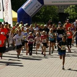 Hiiumaa VI jooksumaraton - Annabel Tiiksaar (15), Valdo Aedmäe (15), Laht Stina (15), Allan-Peeter Jaaska (15), Herta Kesküla (26), Geir Tristan Anton (26), Marit Leisberg (26), Maasik Martin (26), Maria Eller (28), Ülle Paasoja (28), Helena Maripuu (28), Tilk Tiit (28), Anne Tooms
