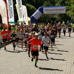 Hiiumaa VI jooksumaraton - Annabel Tiiksaar (15), Valdo Aedmäe (15), Laht Stina (15), Allan-Peeter Jaaska (15), Jan Kõrva (29), Toomas Mast (29), Mihkel Heinapuu (29), Leisberg Martin (29), Targo Tennisberg (29), Olavi-Tanel Kask (36), Karel Otto (36), Lilloja Kaido (36), André Abn