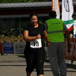 Hiiumaa VI jooksumaraton - Marina Väljas (13), Jaagup Jesmin (13), Leili Teeväli (13)