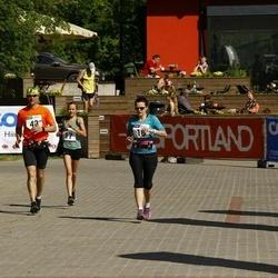 Hiiumaa VI jooksumaraton - Gerda Danieljants (16), Mets Randel (16), Hergo Tasuja (16)