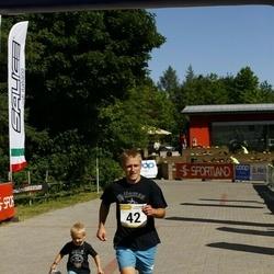 Hiiumaa VI jooksumaraton - Reimo Leiger (42), Tarmo Mändla (42), Paaso Aila (42), Eneli Pall (42)