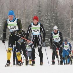 42. Tartu Maraton - Aare Kuuseoks (301), Margus Maidre (849), Dainius Maciulis (939)
