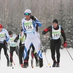 42. Tartu Maraton - Andis Puida (382), Paavo Vikat (736), Mati Koovit (802)