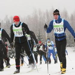 42. Tartu Maraton - Marek Võsu (1587), Ando Post (1615), Aivar Lankov (1786)