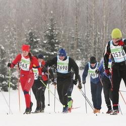 42. Tartu Maraton - Anastasia Ganzhinova (563), Joosep Mölder (2578), Meelis Tolm (2698)