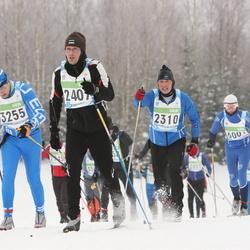 42. Tartu Maraton - Art Oppi (2310), Mart Kals (2407), Kulvo Jõõger (3255)