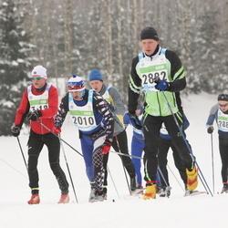 42. Tartu Maraton - Alexander Budanov (2010), Tõnn-Siim Peedosk (2882), Ahti Kooskora (4775), Margus Meius (6428)