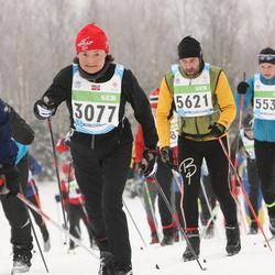 42. Tartu Maraton - Therese Johnsen (3077), Silver Kask (5535), Björn Puna (5621)