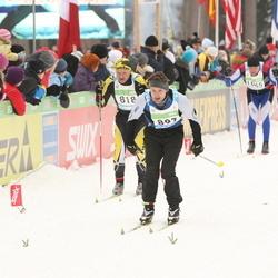 42. Tartu Maraton - Ain Inno (818), Rasmus Mägi (897)