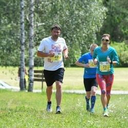 3. Otepää jooksutuur - Keio Laarman (49), Kärt Laarman (71)
