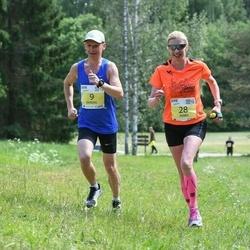 3. Otepää jooksutuur - Raimond Ojalill (9), Annika Veimer (28)