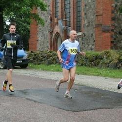 26. Jüri Lossmanni mälestusjooks - Martin Palmiste (124), Henn Sepp (160)