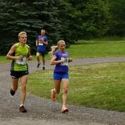 Pärnumaa Võidupüha maraton - Tarvo Treier (9), Jana Treier (10)