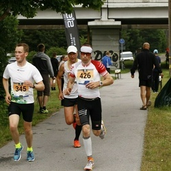 Pärnumaa Võidupüha maraton - Jaanus Mäe (345), Martin Tarkpea (426)
