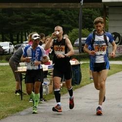 Pärnumaa Võidupüha maraton - Peeter Kand (55), Alari Lumberg (322), Kristjan Puusild (378)