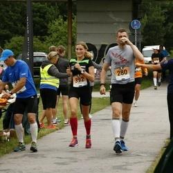 Pärnumaa Võidupüha maraton - Maario Koplus (280), Karin Redi (392)