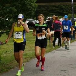 Pärnumaa Võidupüha maraton - Risto Lass (77), Maario Koplus (280), Karin Redi (392)