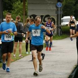 Pärnumaa Võidupüha maraton - Raul Luik (91), Marek Mustonen (100)