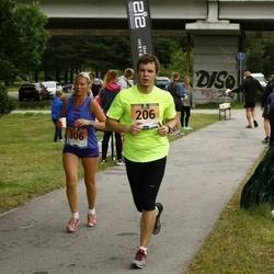 Pärnumaa Võidupüha maraton - Priit Alekask (206), Kristi Lasn (306)