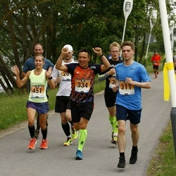 Pärnumaa Võidupüha maraton - Argo Leht (311), Aado Metsis (334), Mirtti Verbitskas (451)