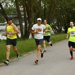 Pärnumaa Võidupüha maraton - Sven Veedla (164), Mait Mõttus (343)