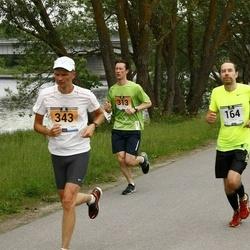 Pärnumaa Võidupüha maraton - Sven Veedla (164), Kristjan Lepa (313), Mait Mõttus (343)