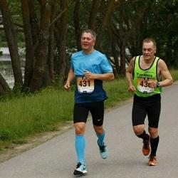 Pärnumaa Võidupüha maraton - Juhan Telling (430), Urmas Telling (431)