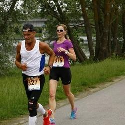 Pärnumaa Võidupüha maraton - Märt Lääts (327), Pille Pipar (375)