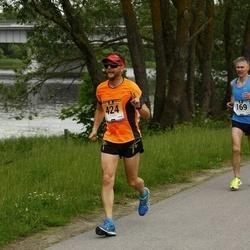 Pärnumaa Võidupüha maraton - Toomas Voolaid (169), Olavi Talu (424)