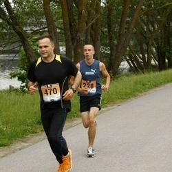 Pärnumaa Võidupüha maraton - Sven Gnezdov (228), Imre Taveter (470)