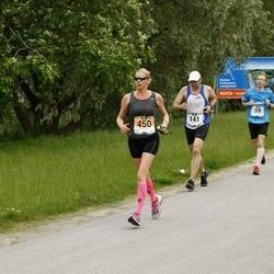 Pärnumaa Võidupüha maraton - Erkki Etverk (29), Annika Veimer (450), Mirtti Verbitskas (451)