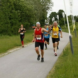 Pärnumaa Võidupüha maraton - Kalle Liebert (315), Toomas Jürisoo (482)