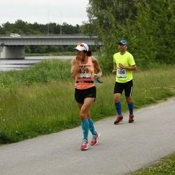 Pärnumaa Võidupüha maraton - Ahti Nuga (106), Triin Teekivi (429)