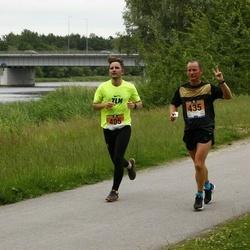 Pärnumaa Võidupüha maraton - Siim Saidla (405), Terjo Tirel (435)