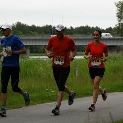 Pärnumaa Võidupüha maraton - Roman Jõerand (45), Janar Jürgens (248), Reelika Kivi (274)