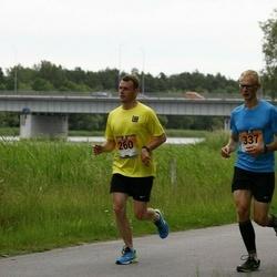 Pärnumaa Võidupüha maraton - Tõnis Kalmu (260), Madis Mihklepp (337)
