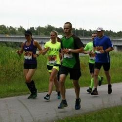 Pärnumaa Võidupüha maraton - Andres Bester (216), Margus Kask (266), Kadri Leesment (310), Maarja Pütsep (386)