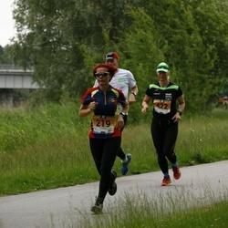 Pärnumaa Võidupüha maraton - Margit Blehner (219), Tõnis Harjaks (232), Tiina Säälik (422)