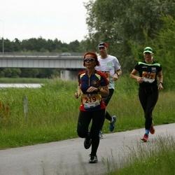 Pärnumaa Võidupüha maraton - Margit Blehner (219), Tiina Säälik (422)