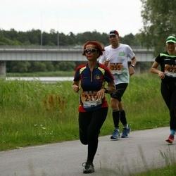 Pärnumaa Võidupüha maraton - Margit Blehner (219), Raivo Olgo (355), Tiina Säälik (422)