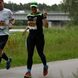 Pärnumaa Võidupüha maraton - Raivo Olgo (355), Tiina Säälik (422)