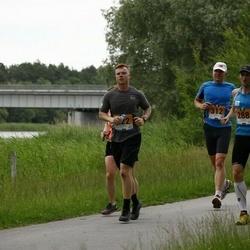 Pärnumaa Võidupüha maraton - Raido Krimm (288), Rain Lelle (312)