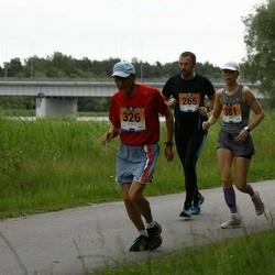 Pärnumaa Võidupüha maraton - Andres Kase (265), Arvo Luus (326), Ilona Põld (381)