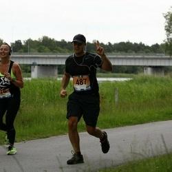 Pärnumaa Võidupüha maraton - Anett Stukis (415), Martin Lulla (487)