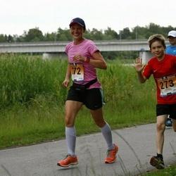 Pärnumaa Võidupüha maraton - Moonika Kitt (272), Henrik Johan Kitt (273)